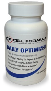 Daily Optimizer Daily Nutritional Supplement By Cell Formula